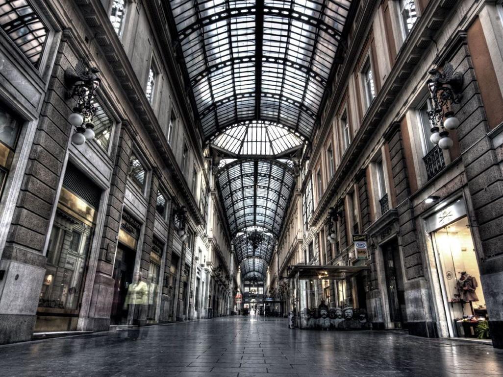 Sede del Cai, galleria Mazzini Location di Incipit Festival Festival Letterario a Genova